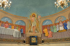 Pittura di Gesù Cristo fotografia stock libera da diritti
