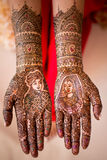 Pittura di Henna Hand Immagine Stock Libera da Diritti