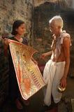 Pittura di Madhubani in Bihar-India Immagini Stock Libere da Diritti