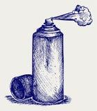Pittura di spruzzo Fotografia Stock