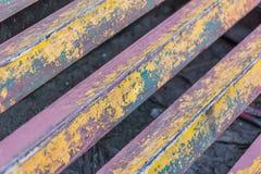 Pittura di struttura su acciaio Fotografie Stock Libere da Diritti