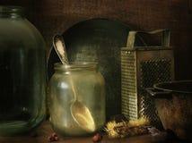 Pittura di vecchie cose Fotografia Stock