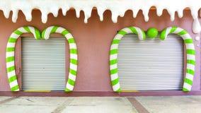 Pittura e decorazione di arte della parete Immagini Stock Libere da Diritti