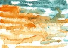 pittura, fondo di colore, acquerello, tex astratto di colore della pittura fotografia stock