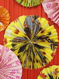 Pittura giapponese su carta Fotografia Stock