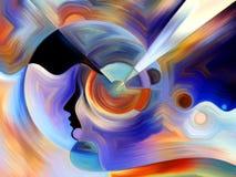 Pittura interna metaforica Fotografia Stock