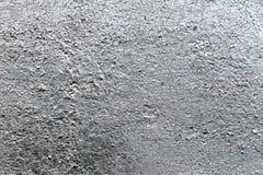 Pittura metallica d'argento sul fondo d'acciaio di struttura immagine stock