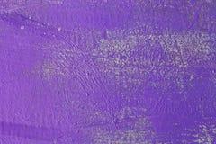 Pittura metallica di porpora di struttura fotografie stock
