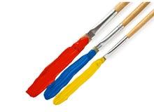Pittura multicolore delle limande Fotografia Stock
