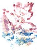 Pittura multicolore di gouache Immagine Stock Libera da Diritti