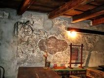 Pittura murala Fotografie Stock