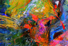 Pittura a olio Immagine Stock Libera da Diritti