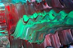 Pittura a olio Fotografia Stock