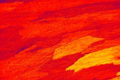 Pittura a olio astratta Fotografia Stock Libera da Diritti