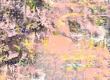 Pittura a olio originale Fotografie Stock