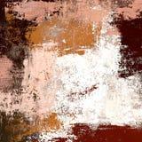 Pittura a olio su tela fatta a mano Struttura di astrattismo Struttura variopinta materiale illustrativo moderno Colpi di pittura fotografie stock libere da diritti