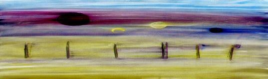 Pittura originale Fotografia Stock Libera da Diritti