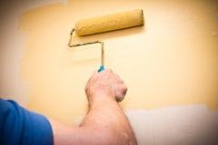 Pittura per uso interno immagine stock libera da diritti