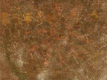 Pittura primitiva in caverna Fotografia Stock