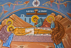 Pittura religiosa Fotografie Stock