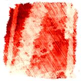 Pittura rossa Fotografie Stock Libere da Diritti