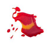 Pittura rossa isolata Royalty Illustrazione gratis