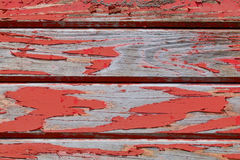 Pittura rossa stagionata Fotografia Stock Libera da Diritti