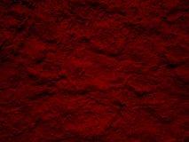 Pittura rossa strutturata Fotografia Stock