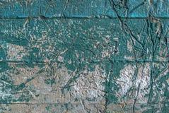 Pittura scheggiata sul vecchio fondo di struttura del muro di cemento Fotografie Stock