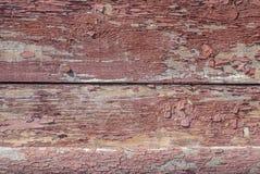 Pittura scheggiata sulla porta dei bordi anziani, fondo di struttura Immagini Stock