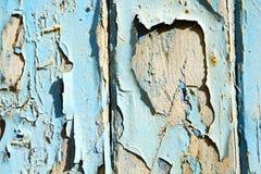 Pittura spogliata nel blu fotografia stock