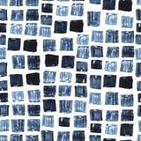 Pittura stabilita dell'acquerello dei punti neri Macchie dell'inchiostro Fotografia Stock Libera da Diritti