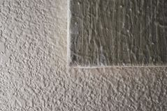 Pittura strutturata sulla parete strutturata fotografie stock libere da diritti