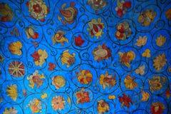 Pittura sul soffitto Fotografia Stock