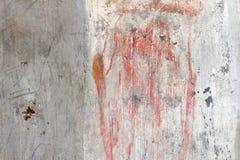 pittura sull'estratto concreto sporco fotografia stock