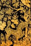 Pittura tailandese di arte Fotografie Stock Libere da Diritti
