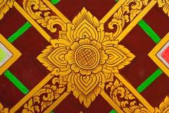 Pittura tailandese di disegno Fotografia Stock