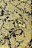 Pittura tailandese tradizionale di arte di stile dell'annata Immagine Stock Libera da Diritti