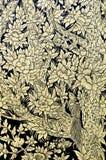 Pittura tailandese tradizionale di arte di stile dell'annata Fotografia Stock