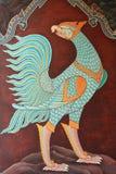 Pittura tailandese tradizionale di stile Immagini Stock Libere da Diritti