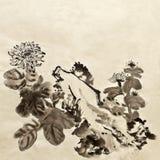 Pittura tradizionale cinese Fotografia Stock
