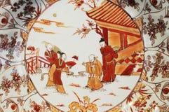 Pittura tradizionale del cinese Immagine Stock