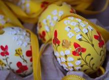 pittura tradizionale dell'uovo di Pasqua immagine stock libera da diritti