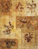 Pittura urgente di watecolor delle foglie di acero. Fotografia Stock Libera da Diritti