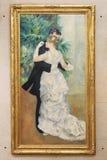 Pitture da Pierre Auguste Renoir immagini stock