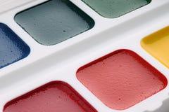 Pitture dell'acquerello per i principianti Immagine Stock Libera da Diritti