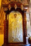 Pitture della chiesa greca Immagine Stock Libera da Diritti