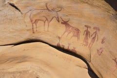 3000 pitture di caverna di Bok Immagini Stock