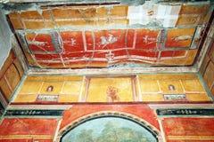 Pitture di Oplontis immagini stock libere da diritti