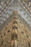 Pitture di parete ambrate del palazzo di Jaipur Fotografia Stock